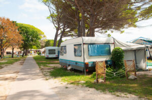 illegale bewoning camping